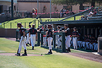 STANFORD, CA - MAY 29: Team during a game between Oregon State University and Stanford Baseball at Sunken Diamond on May 29, 2021 in Stanford, California.