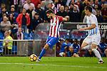 Atletico de Madrid's player Yannick Carrasco during a match of La Liga Santander at Vicente Calderon Stadium in Madrid. October 29, Spain. 2016. (ALTERPHOTOS/BorjaB.Hojas)