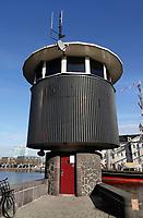 Nederland  Amsterdam  2020.  Sweets Hotel. Voormalig brugwachtershuisje.   Foto : ANP/ HH / Berlinda van Dam