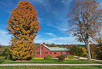 The Norman Rockwell Museum and studio, Stockbridge, Massacusetts, USA