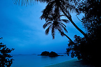 Trunk Bay Beach on a rainy day<br /> Virgin Islands National Park<br /> St. John, U.S. Virgin Islands