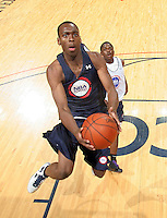 Sheldon McClellan at the NBPA Top100 camp June 18, 2010 at the John Paul Jones Arena in Charlottesville, VA. Visit www.nbpatop100.blogspot.com for more photos. (Photo © Andrew Shurtleff)