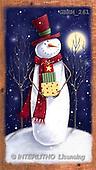 Roger, CHRISTMAS SANTA, SNOWMAN, paintings(GBRM261,#X#) Weihnachtsmänner, Schneemänner, Weihnachen, Papá Noel, muñecos de nieve, Navidad, illustrations, pinturas