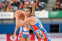 6th June 2021; Ken Rosewall Arena, Sydney, New South Wales, Australia; Australian Suncorp Super Netball, New South Wales, NSW Swifts versus Giants Netball; Maddy Proud of NSW Swifts looks for passing options