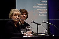 """""""The First Woman"""". Madeleine Korbel Albright, former and first woman to be United States Secretary of State.<br /> <br /> For more pictures on this event click here: <a href="""" http://bit.ly/PpWIPr""""> http://bit.ly/PpWIPr</a>"""