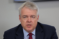 First Minister for Wales Carwyn Jones during the Swansea Bay City Region deal, at the Liberty Stadium, Swansea, Wales, UK. Monday 20 March 2017.