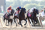 June 7, 2014: Tonalist, trained by Christophe Clement and ridden by Joel Rosario wins the 146th running of the Grade I Belmont Stakes at Belmont Park , Elmont, NY.   ©Joan Fairman Kanes/ESW/CSM