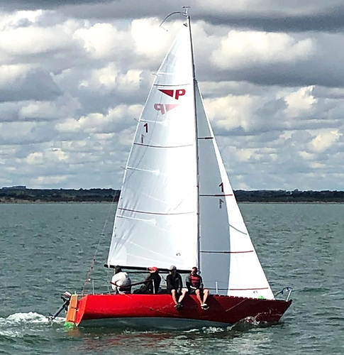 …..while the 1978-built Puppeteer 22 prototype Shiggy-Shig has just undergone her first restoration, and it may have helped owner Paul McMahon to win the 2020 Class Championship