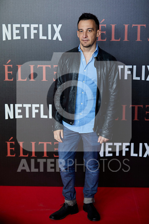 Alejandro Amenabar attends to 'Elite' premiere at Museo Reina Sofia in Madrid, Spain. October 02, 2018. (ALTERPHOTOS/A. Perez Meca)