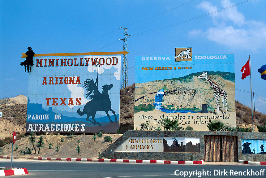 Spanien, Andalusien, Filmkulissendorf Minihollywood bei Almeria