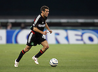 7 May 2005. DC United's Ben Olsen (14) sprints up the field at RFK Stadium in Washington, DC.