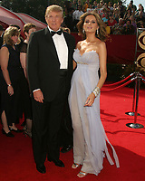LOS ANGELES - SEP 18:  Donald Trump, Melania Trump at the Primetime Emmys 2005 at the Shrine Auditorium on September 18, 2005 in Los Angeles, CA