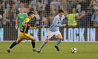 Kansas City, KS - Wednesday September 20, 2017:  during the 2017 U.S. Open Cup Final Championship game between Sporting Kansas City and the New York Red Bulls at Children's Mercy Park.