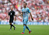 28th May 2018, Wembley Stadium, London, England;  EFL League 2 football, playoff final, Coventry City versus Exeter City; Michael Doyle of Coventry City looking on