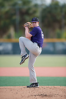 Jack Marks (64), from Mason, Ohio, while playing for the Rockies during the Baseball Factory Pirate City Christmas Camp & Tournament on December 28, 2017 at Pirate City in Bradenton, Florida.  (Mike Janes/Four Seam Images)