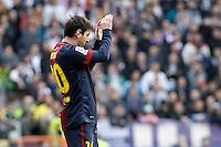 FC Barcelona's Leo Messi during La Liga match.March 02,2013. (ALTERPHOTOS/Acero) /NortePhoto