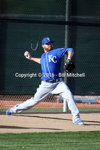 Ian Kennedy - Kansas City Royals 2016 spring training (Bill Mitchell)