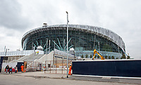 Tottenham Hotspur Stadium in its final stages of completion at High Road (White Hart Lane), London, England on 19 March 2019. Photo by Andy Rowland.