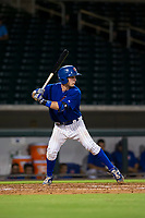 AZL Cubs catcher Will Remillard (17) at bat against the AZL White Sox on August 13, 2017 at Sloan Park in Mesa, Arizona. AZL White Sox defeated the AZL Cubs 7-4. (Zachary Lucy/Four Seam Images)