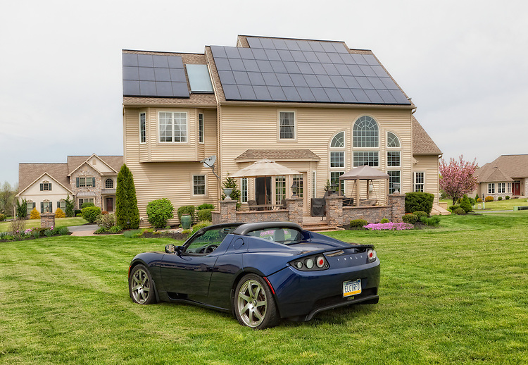As nice as the Tesla is, it is even better when it is powered by your roof.