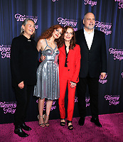 September 14, 2021.Cherry JonesJessica Chastani, Isabelle Huppert, Vincent D'Onofri attend Searchlight Pictures premiere of The Eyes of Tammy Faye  at<br /> SVA Theatre in New York September 14, 2021 Credit:RW/MediaPunch