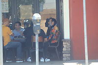 Scruffy David Arquette Having A Meeting In Hollywood