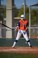 Walker Polk (23) during the WWBA World Championship at Lee County Player Development Complex on October 9, 2020 in Fort Myers, Florida.  Walker Polk, a resident of Coppell, Texas who attends Coppell High School, is committed to Baylor.  (Mike Janes/Four Seam Images)