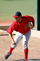 Anthony Ortega - Los Angeles Angels - 2009 spring training.Photo by:  Bill Mitchell/Four Seam Images