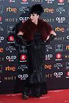 Rossy de Palma attends red carpet of Goya Cinema Awards 2018 at Madrid Marriott Auditorium in Madrid , Spain. February 03, 2018. (ALTERPHOTOS/Borja B.Hojas)
