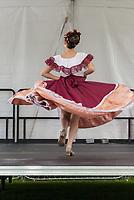 Grupo Folklorico Citlali, Mexican Dance Group, NW Folklife Festival, Seattle, WA, USA.