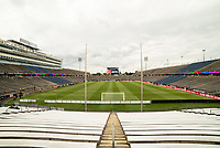 EAST HARTFORD, CT - JULY 1: Pratt & Whitney Stadium at Rentschler Field before a game between Mexico and USWNT at Rentschler Field on July 1, 2021 in East Hartford, Connecticut.