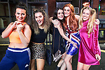 © Joel Goodman - 07973 332324 . 26/12/2017. Wigan, UK. Spice Girls. Revellers in Wigan enjoy Boxing Day drinks and clubbing in Wigan Wallgate . In recent years a tradition has been established in which people go out wearing fancy-dress costumes on Boxing Day night . Photo credit : Joel Goodman
