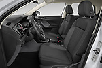 Front seat view of 2019 Volkswagen T-Cross Life 5 Door SUV Front Seat  car photos