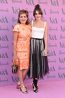 Duchess of Rutland, Emma Manners and Lady Violet Manners <br /> arriving for the V&A Summer Party 2018, London<br /> <br /> ©Ash Knotek  D3410  20/06/2018