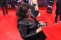 LONDON, ENGLAND - OCTOBER 10: Gurinder Chadha attending 'The Tender Bar' Premiere - the 65th BFI London Film Festival at The Royal Festival Hall on October 10, 2021, London, England.<br /> CAP/MAR<br /> ©MAR/Capital Pictures