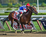 August 29, 2015 : Runhappy, ridden by Edgar Prado, wins the King's Bishop Stakes on Travers Stakes Day at Saratoga Race Course in Saratoga Springs, NY. Scott Serio/ESW/CSM