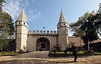 Türkei, im Topkapi Palast(Topkapi Saray) in Istanbul,, Tor zum 2. Hof , UNESCO-Weltkulturerbe