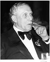 Sam Berger, proprietaire des ALOUETTES de Montreal<br /> , 1979<br /> <br /> PHOTO : JJ Raudsepp  - Agence Quebec presse