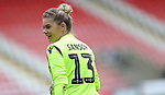 Goalkeeper Chloe Sansom of Millwall Lionesses