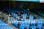 Kerry backroom staff during the Joe McDonagh Cup Final match between Kerry and Antrim at Croke Park in Dublin.