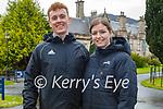 Enjoying a stroll in Muckross Gardens in Killarney on Sunday, l to r: Conor Heffernan and Ashling Bohan.