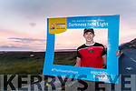 Supporting Darkness into Light Glenbeigh/Glencar GAA are fundraising for Pieta House by having consecutive runners out for 48 hours. For the first 24 hours the Senior Team were running in turns and they were assisted by members of the community for the second 24 hours. Pictured is Jack Brosnan at Rossbeigh Beach on Saturday morning.