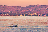 A fishing boat in Agistri island, Greece