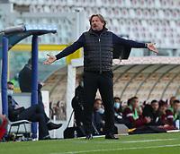 Torino 08-11-2020<br /> Stadio Grande Torino<br /> Campionato Serie A Tim 2020/21<br /> Torino - Crotone <br /> nella foto:    Giovanni Stroppa                      <br /> foto Antonio Saia -Kines Milano