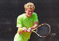 Netherlands, Rotterdam August 05, 2015, Tennis,  National Junior Championships, NJK, TV Victoria, Lars Schouten<br /> Photo: Tennisimages/Henk Koster