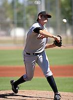 Tim Alderson / San Francisco Giants 2008 Instructional League..Photo by:  Bill Mitchell/Four Seam Images