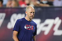 NASHVILLE, TN - SEPTEMBER 5: Gregg Berhalter head coach of USA during a game between Canada and USMNT at Nissan Stadium on September 5, 2021 in Nashville, Tennessee.
