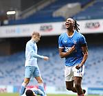 25.07.2020 Rangers v Coventry City: Joe Aribo celebrates his goal for Rangers