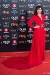 Ana Turpin attends red carpet of Goya Cinema Awards 2018 at Madrid Marriott Auditorium in Madrid , Spain. February 03, 2018. (ALTERPHOTOS/Borja B.Hojas)