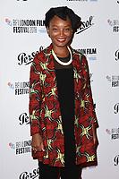 Rungano Nyoni<br /> arriving for the London Film Festival Awards, Vue Leicester Square, London<br /> <br /> ©Ash Knotek  D3452  20/10/2018
